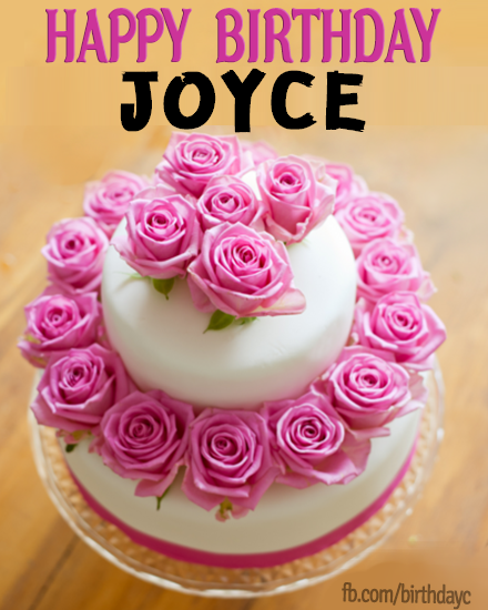 Happy Birthday Joyce Images Happy Birthday Greeting Cards