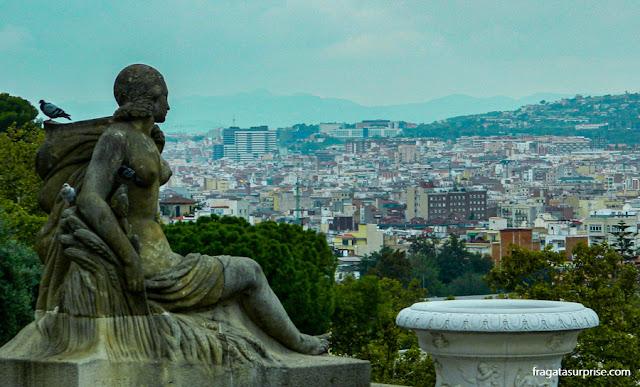 Barcelona vista de Montjuïc