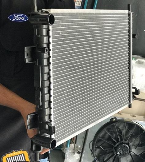 kerusakan pada radiator