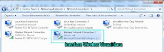 Wireless Virtual Berhasil dibuat