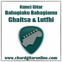 Chord Kunci Gitar Bahagiaku Bahagiamu Ghaitsa Kenang & Luthfi Aulia