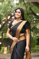 Poorna in Cute Backless Choli Saree Stunning Beauty at Avantika Movie platinum Disc Function ~  Exclusive 137.JPG
