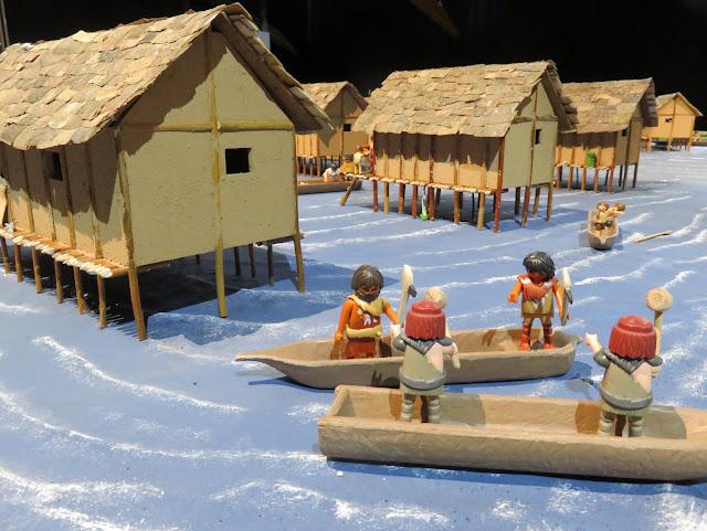 Playmobil- Ausstellung über die Pfahlbauten im A L M