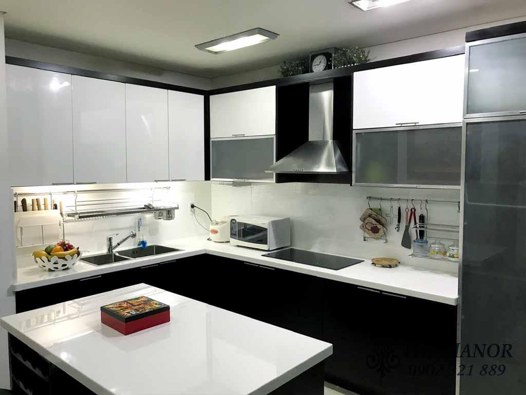 cho thuê căn hộ với 3 phòng ngủ khu The Manor 1 block AW 1400$/tháng - pic 5