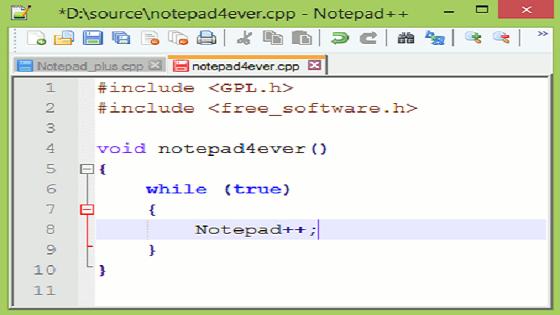 تحميل برنامج Notepad++ تعديل صور مشروع اندرويد ستوديو