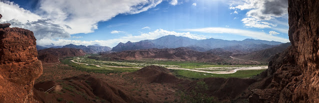 On the way to Cafayate, Argentina
