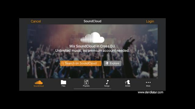 Souncloud menjadi aplikasi musik streaming android terbaik oleh dendiatur.com