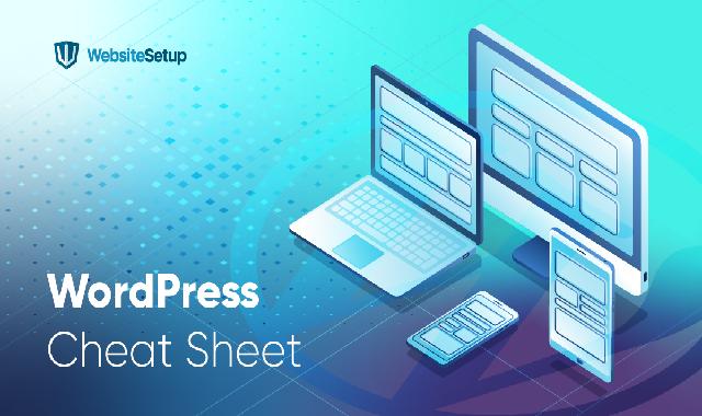WordPress Cheat Sheet #infographic