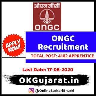 ONGC Apprentice Recruitment 2020