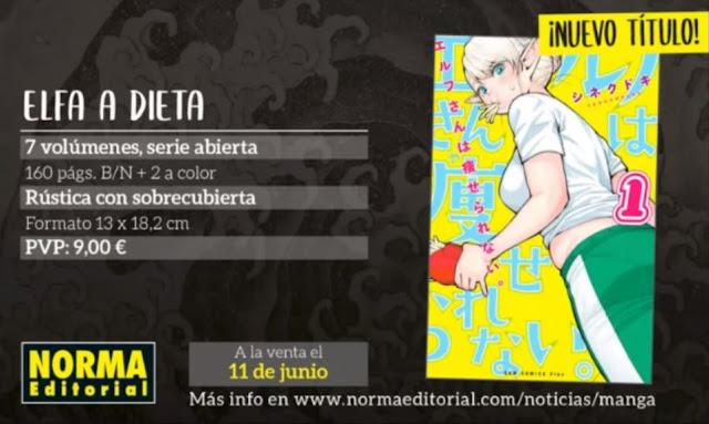 El primer tomo de Elfa a Dieta de Synecdoche saldrá a la venta este 11 de junio.