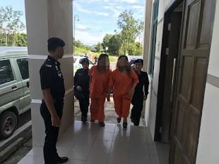 Wanita Lacurkan Anak 14 Tahun Untuk Bayar Hutang Di Tahan Reman
