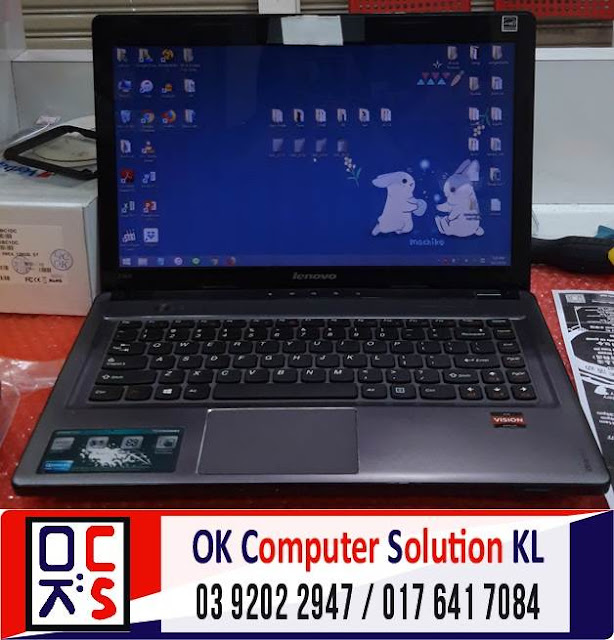 [SOLVED] CANNOT CHARGE & SERVICE LENOVO | REPAIR LAPTOP AMPANG 1