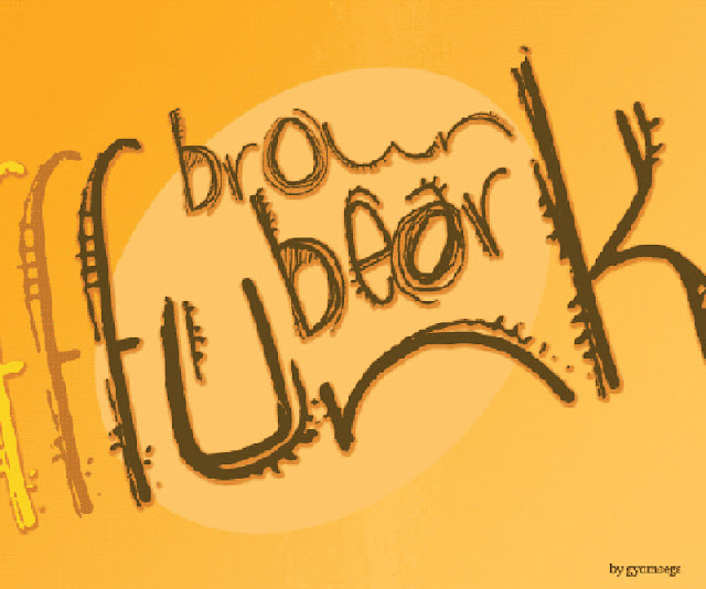 Brown Bear Funk Font Free Download