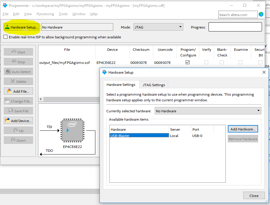 GoJimmyPi: First FPGA Test Drive with Altera Cyclone IV