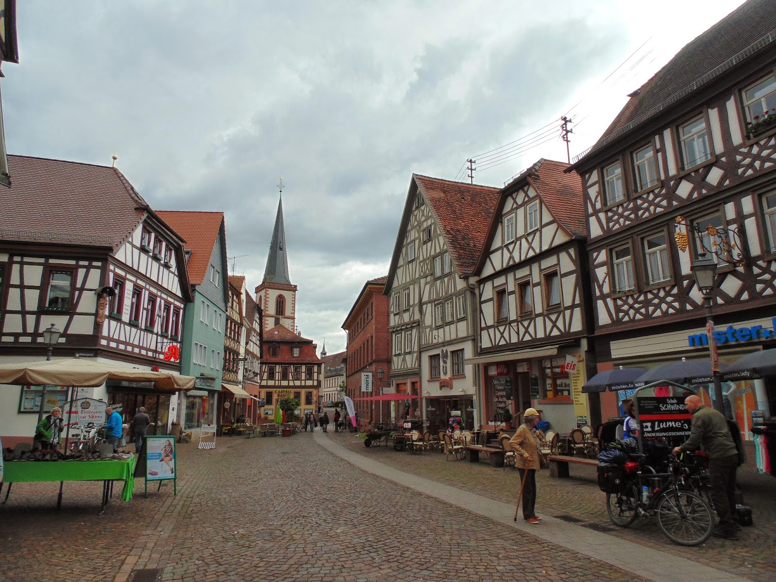 Trip To Lohr Am Main, Germany