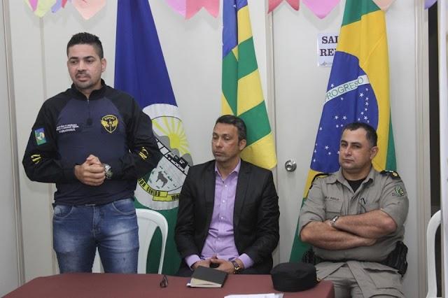 Senador Canedo: Conselho Comunitário de Segurança apresenta seu novo Coordenador