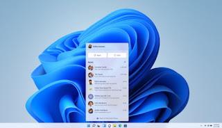 Microsoft Chat pada Windows 11