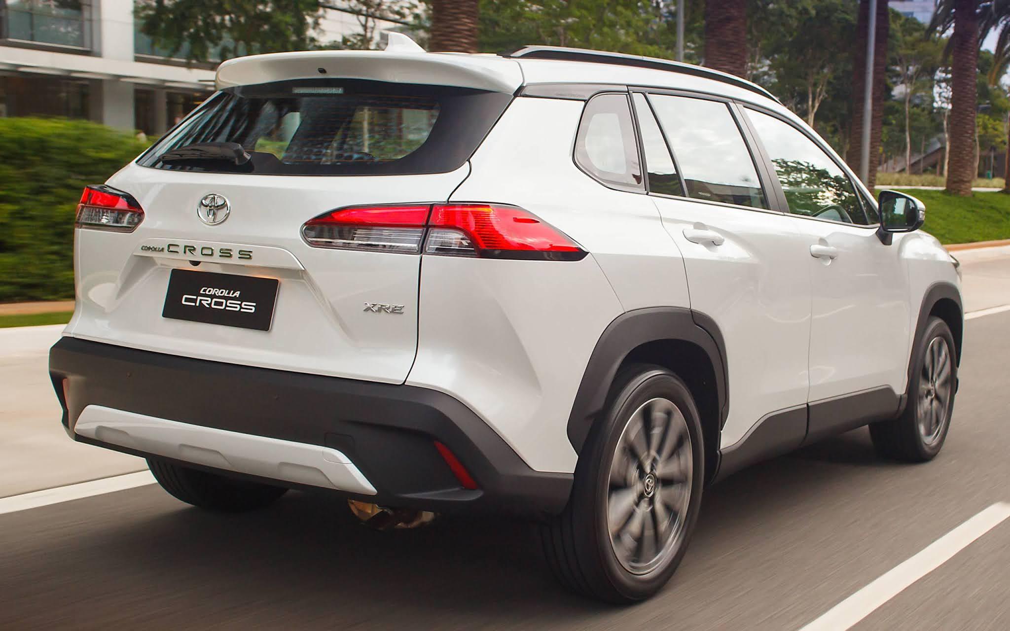 Corolla Cross no top 10 impulsiona Toyota para o pódio no começo de junho