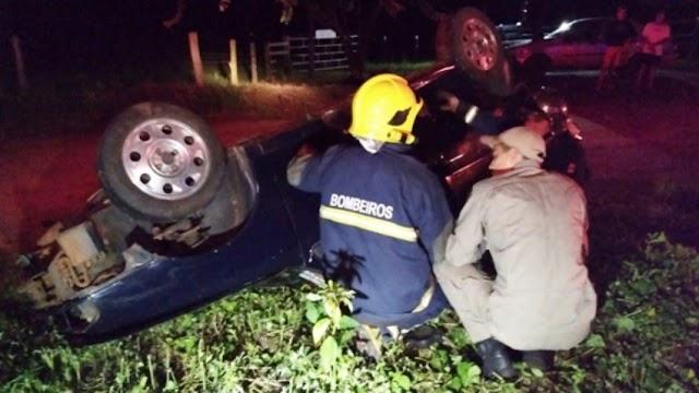 Um morto e três feridos em acidente entre Cianorte e Tapejara. Moça de Goioerê estava no carro