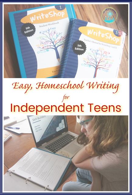 Independent Teens find WriteShop an Easy, Homeschool Writing Curriculum