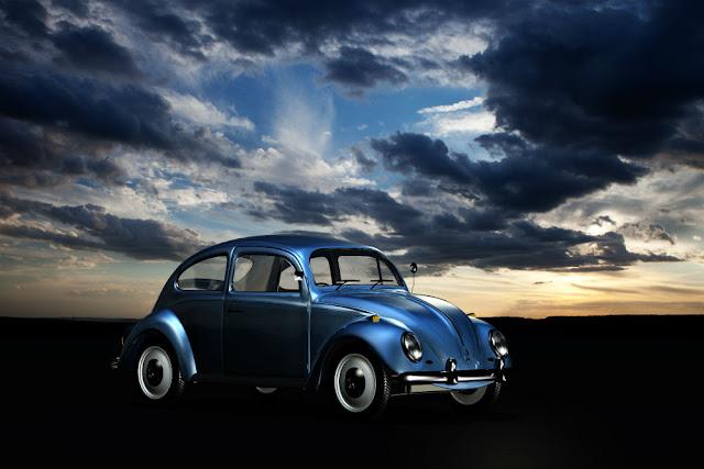 VW Beetle 1940s German classic car