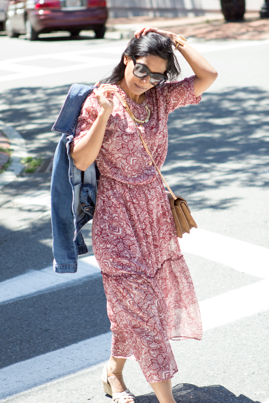 target, who what wear, summer dress, summer style, casual dress, espadrilles, lucky brand, madewell, relaxed style, petite fashion