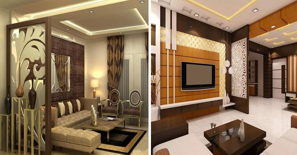 Nifty And Functional Living Room Divider Partition Wall Ideas Face Idecor