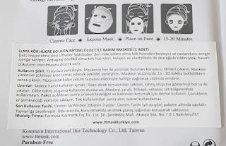 elma kök hücreli maske
