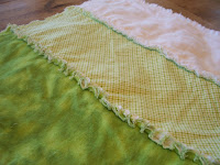 Rag Top Baby Blanket