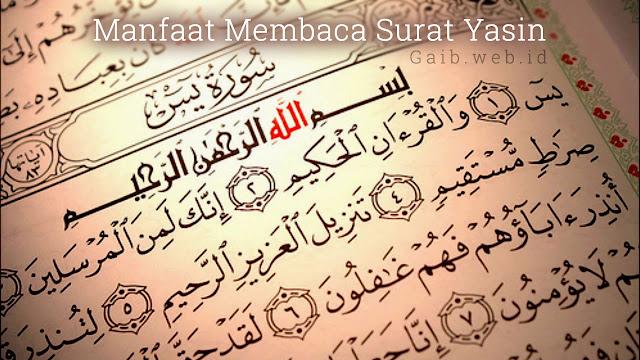 Fadhilah, Khasiat, dan Manfaat Membaca Surat Yasin