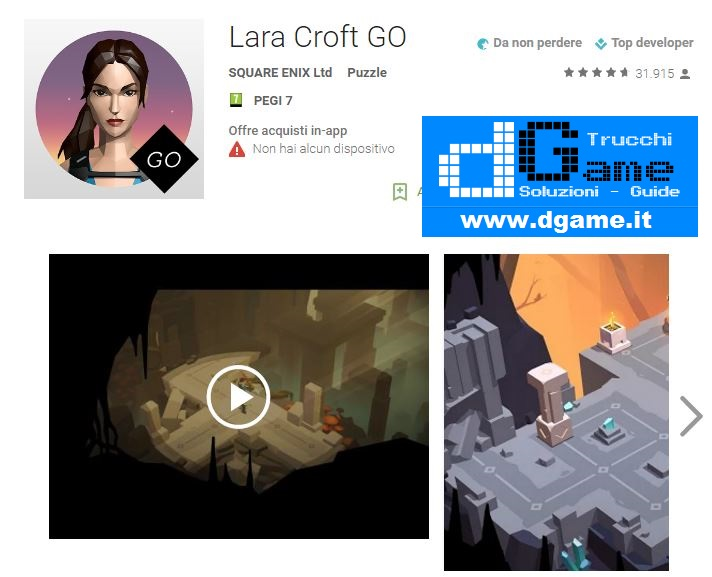 Soluzioni Lara Croft GO di tutti i livelli | Walkthrough guide