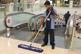 Cleaning Boy Job Recruitment in Shopping Malls in Dubai, UAE | Salary: AED 2001-2500
