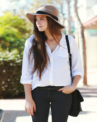 Outfits tumblr con SOMBREROS para lucir con estilo