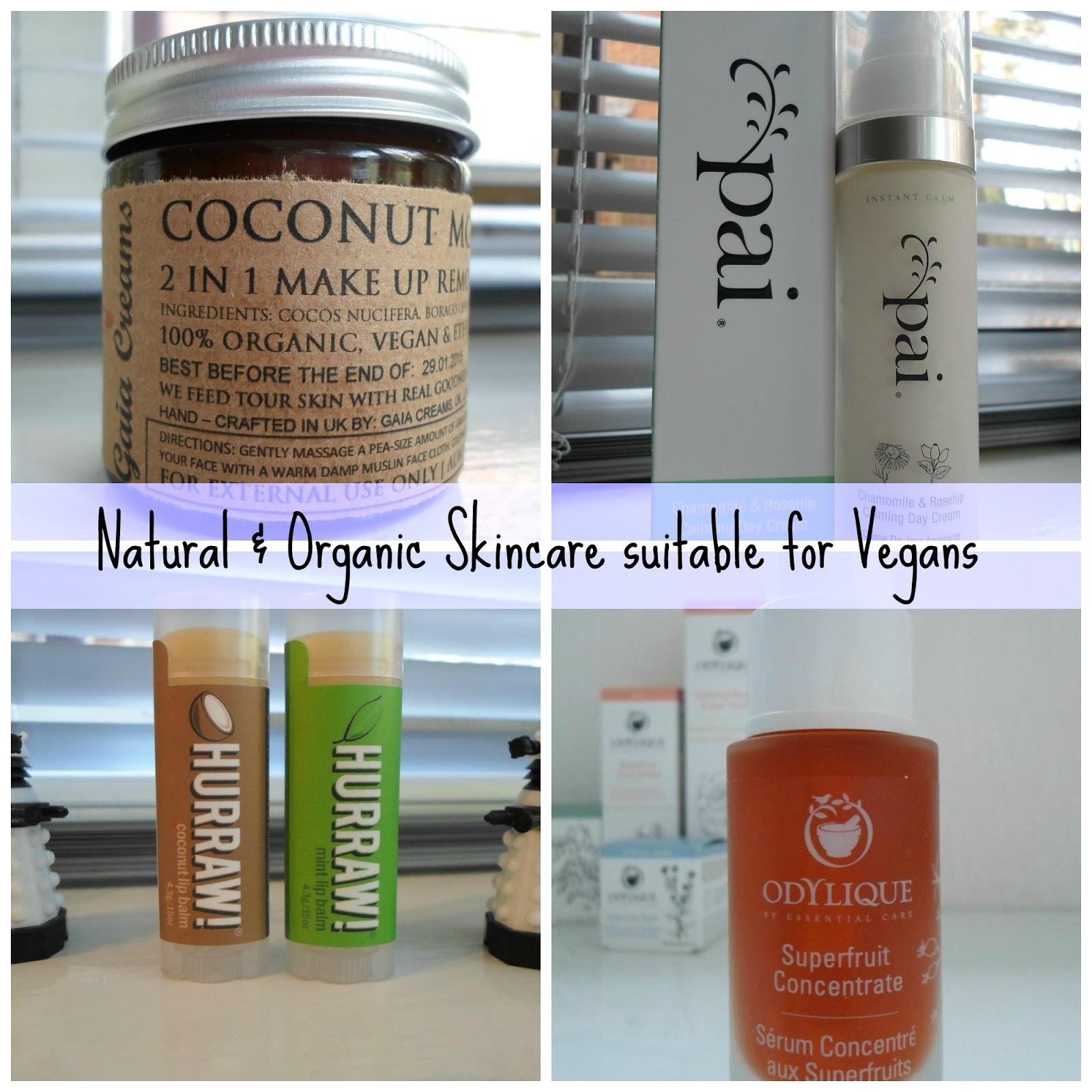 organic vegan skin care