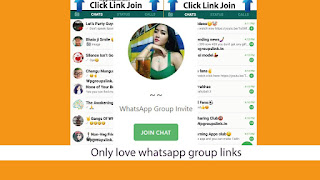 Only love whatsapp group links