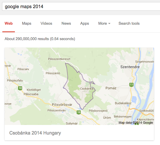 Obscure google maps results adictosagoggle what about google maps 2014 gumiabroncs Image collections