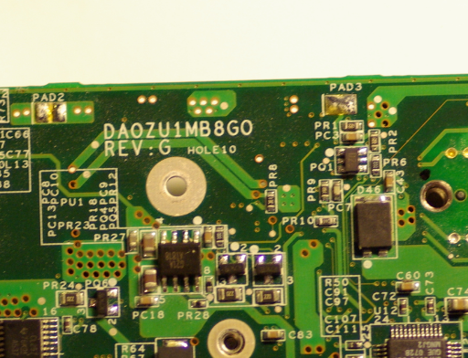 DA0ZU1MB8G0 REV G ACER 6292 Laptop Bios