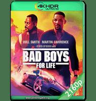 BAD BOYS PARA SIEMPRE (2020) WEB-DL 2160P HDR MKV ESPAÑOL LATINO