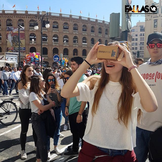 App para ver las fallas de Sección Especial en realidad virtual