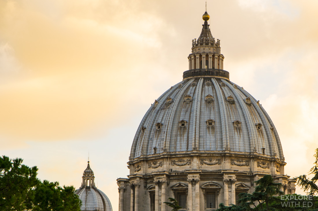 St Peter's Basilica Dome, Vatican City Museum