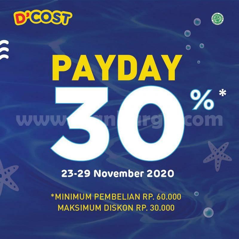 D'cost Promo Grabfood - Diskon 25% & Payday hingga 30%