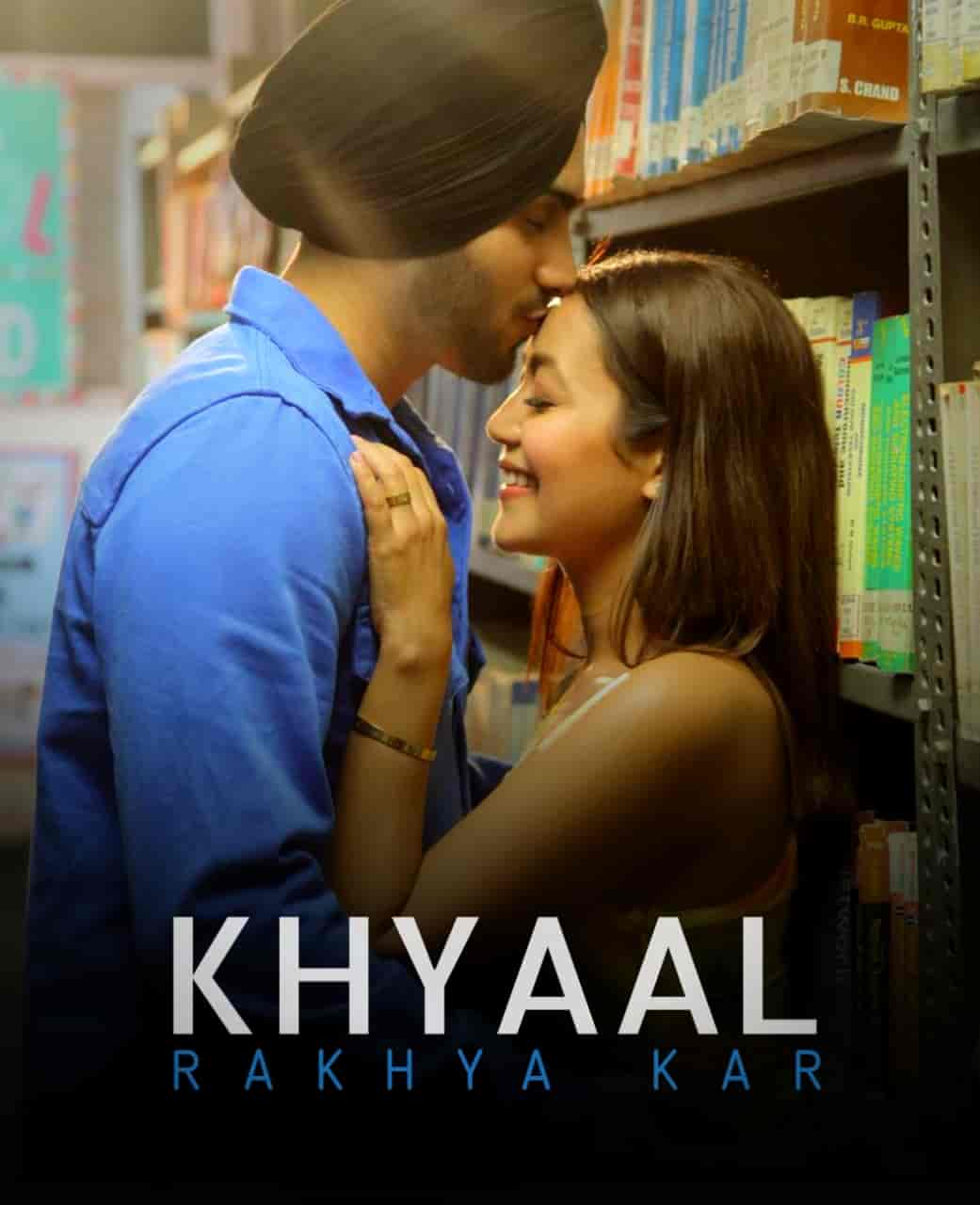 Khyaal Rakhya Kar Song Image Features Neha Kakkar and Rohanpreet