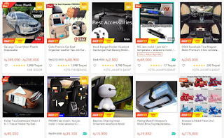 Jualan Online yang Laris Aksesoris Mobil dan Motor