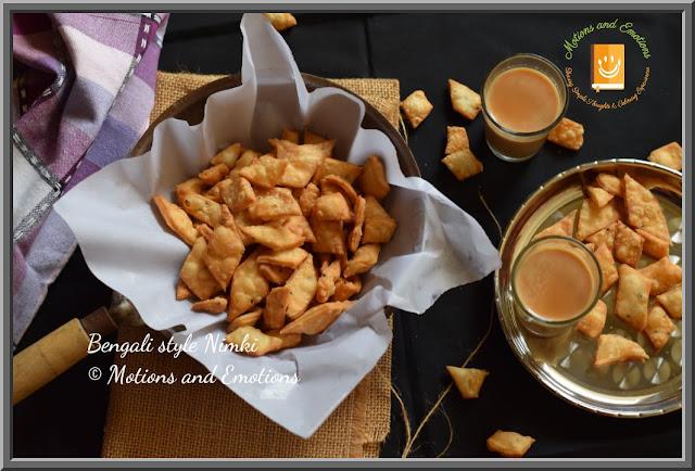 Bengali style Nimki or Kucho Nimki Recipe