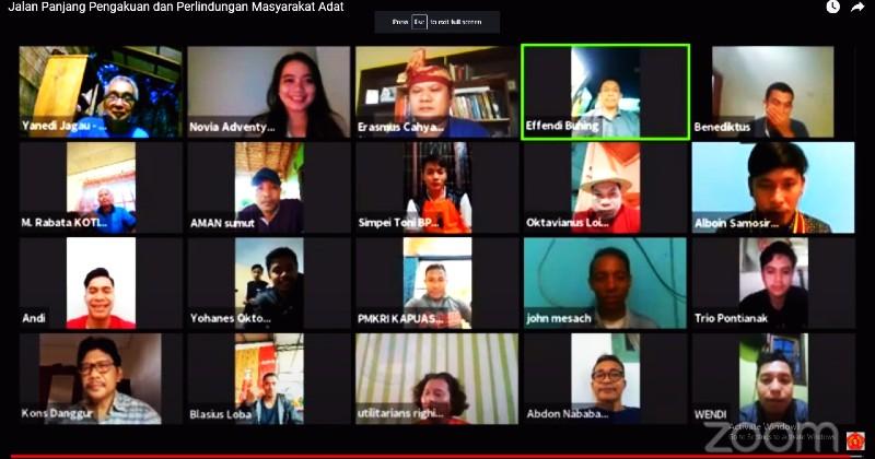 Diskusi PP PMKRI: Jalan Panjang Pengakuan dan Perlindungan Masyarakat Adat