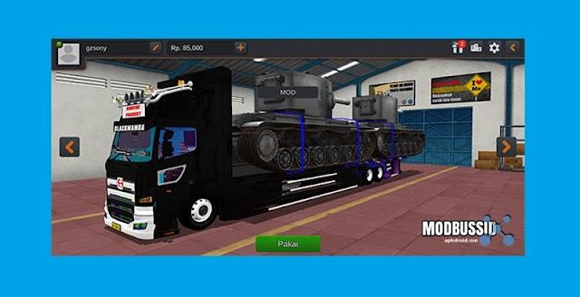 Truck Hino Selfloader Muatan Berat
