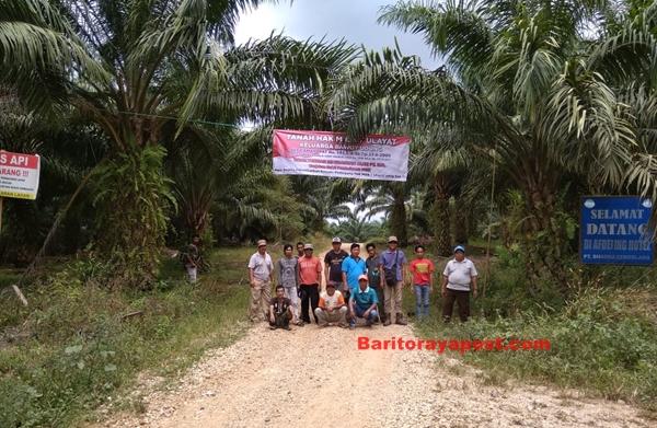 Keluarga Bawoy Udung Pasang Spanduk di HGU PT BCL. Kenapa?