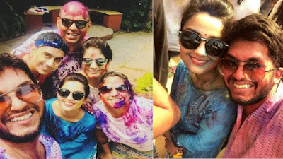 Adaa-khan-Holi-Party-By-Ekta-Kapoor