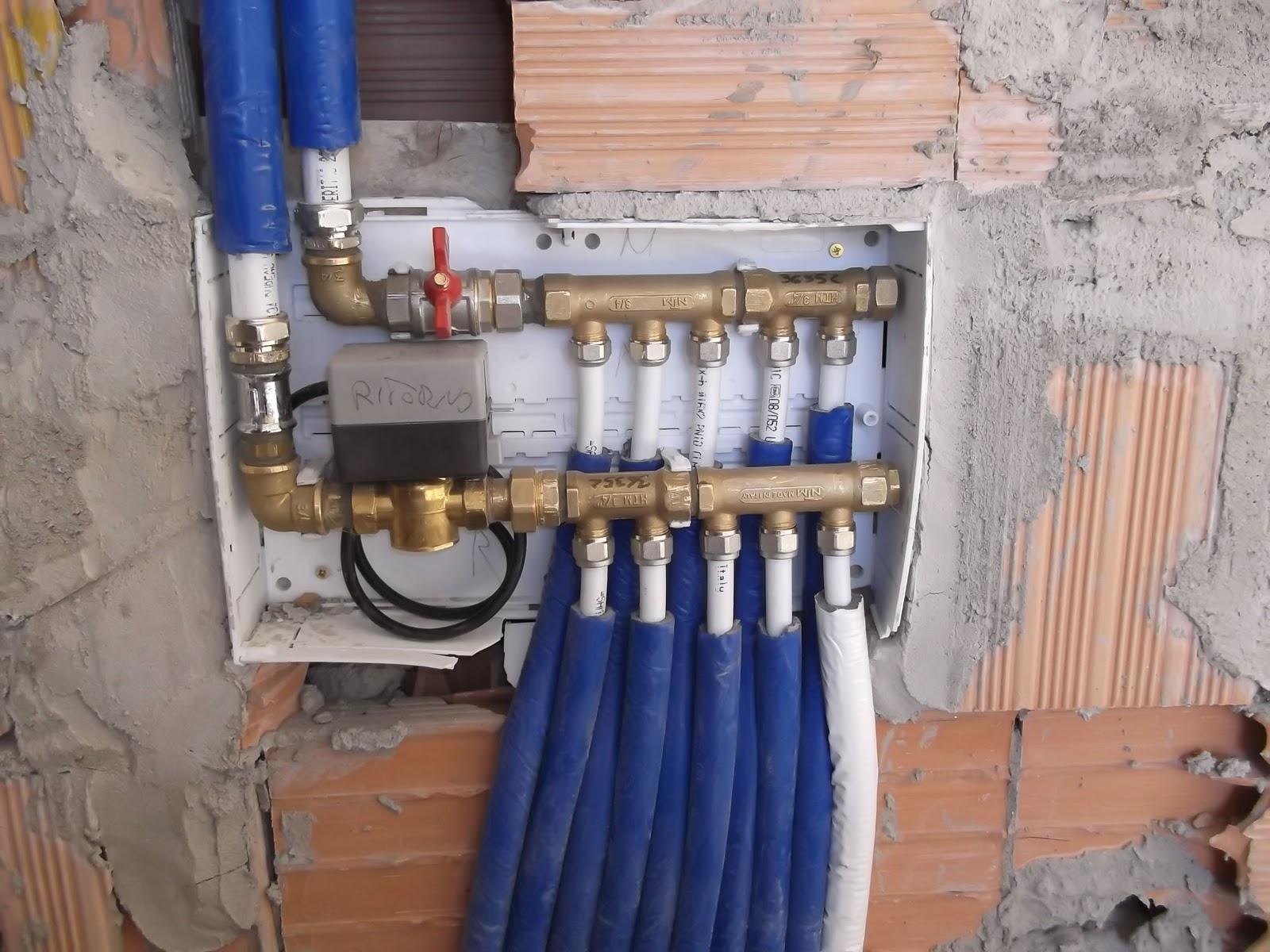 Impianto Idraulico Bagno Multistrato.Il Blog Dell Idraulico Collettore Con Valvole A Zona