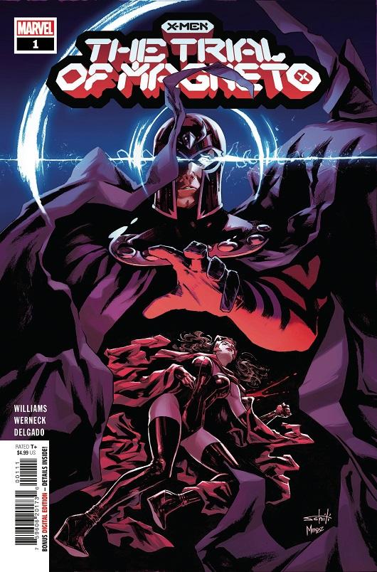 X-Men: Trial of Magneto #1
